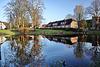 Itzehoe, Klosterhof mit Teich