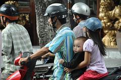 Mobylettes au Vietnam