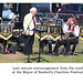 Seaford Silver Band - a few last minute words from the conductor - Mayor's Charities Festival 2021