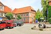 Hitzacker, Markt mit Rathaus