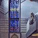 Church window in Aachen