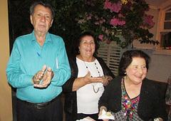Gentil da Costa Lima, Odette Diuana Saud e Gilda Freitas