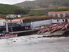 Preparation for whaling boats regatta.