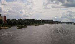 View from Śląsko-Dąbrowski Bridge.