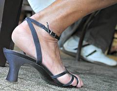 close up  BP sandals