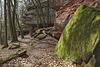 """""""Hohle Felsen"""" heißt diese Buntsandsteinformation im Pfälzerwald"""
