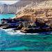 Oman : la costa a occidente di Ṣalāla - spiaggie kilometriche e scoglire a picco