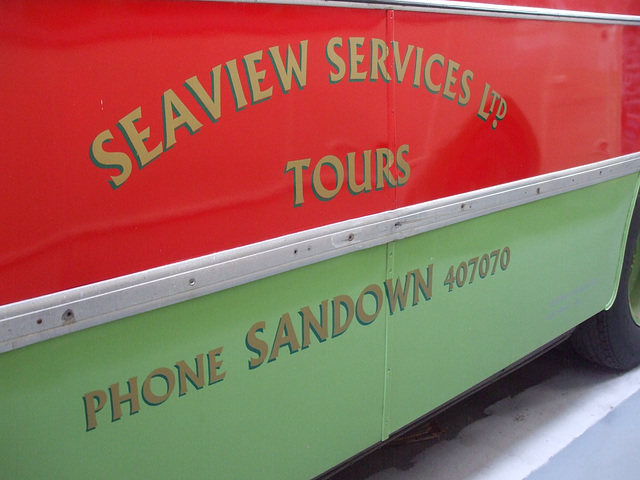 DSCF8761 Former Seaview Services VDL 264K at the Isle of Wight Bus and Coach Museum - 6 July 2017