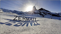Zermatt : un controluce travolgente