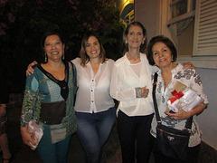 Márcia Pessanha, Fabiana, Latgé, Marly Prates e Liane Arêas