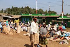 On the road to Ol Pejeta, Kenya