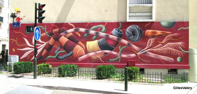 ORLEANS (le Mur)