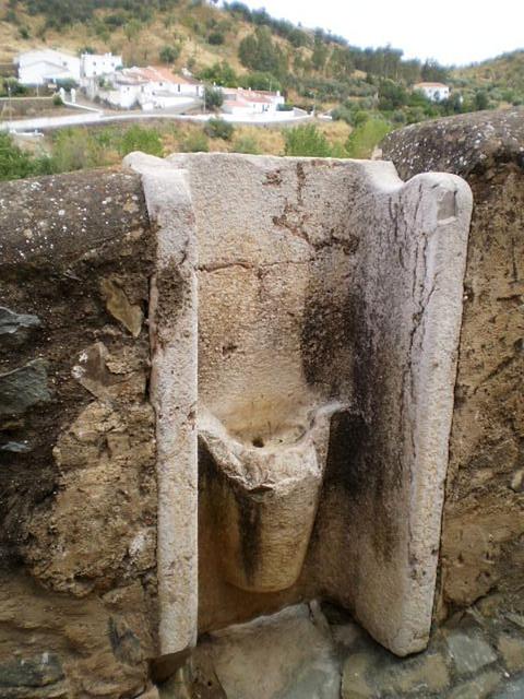 Ancient urinal.