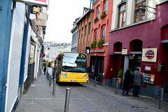 Bergen 2015 – Bus driving through Rue des Clercs