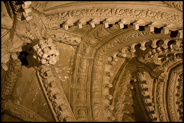 Rosslyn Chapel - angles