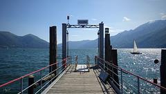 leaving Ascona