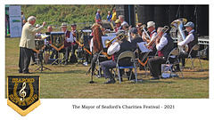 Seaford Silver Band - high rest - low blow - Mayor's Charities Festival 2021