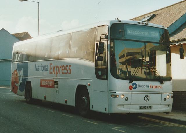 First Cymru CU03 AVD at Tenby - 24 Jul 2007
