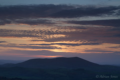 Corndon Hill Sunset