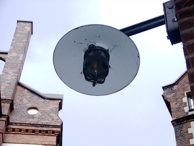 Angedocktes UFO