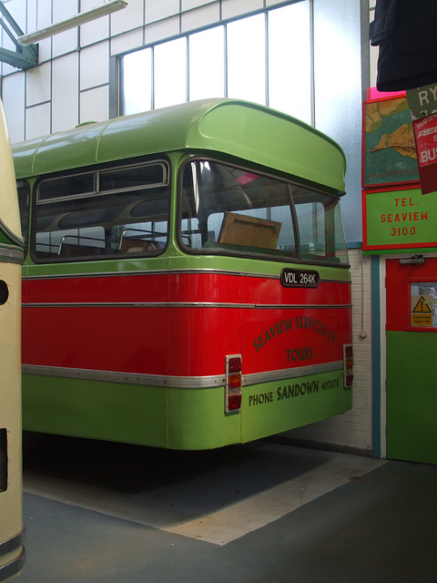 DSCF8765 Former Seaview Services VDL 264K at the Isle of Wight Bus and Coach Museum - 6 July 2017