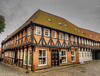 Medieval half-timbered house in Ribe