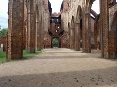 Ruinaĵo de la katedralo  -  Ruiny katedry