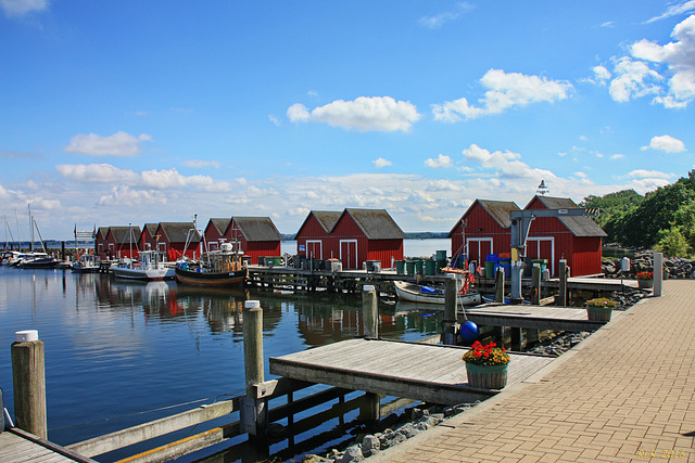 Boltenhagen, Fischereihafen