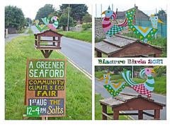 Bizarre Birds Eco fair sign Seaford 27 7 2021