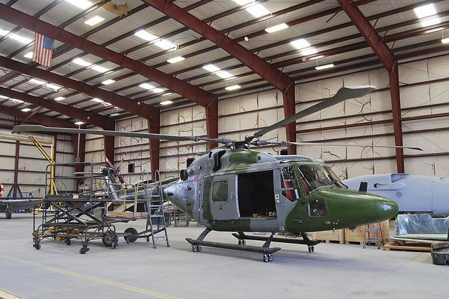 Westland Lynx AH.7 XZ185