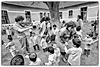 Concert improvisé à l'orphelinat