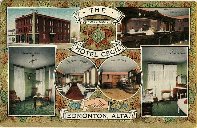 6134. The Hotel Cecil - Edmonton, Alta.