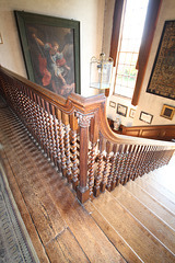 Staircase, Glemham Hall, Suffolk