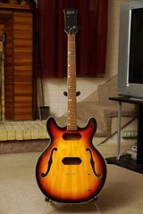 Univox Coily Bass Guitar