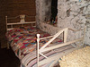 Old bed in private ethnological museum.