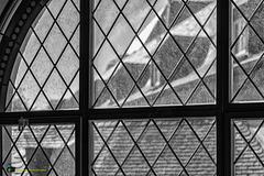 The view through the church window