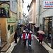 Antibes sous la pluie, rue Sade