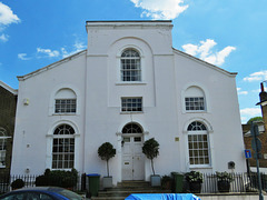 old chapel, king george st., greenwich, london