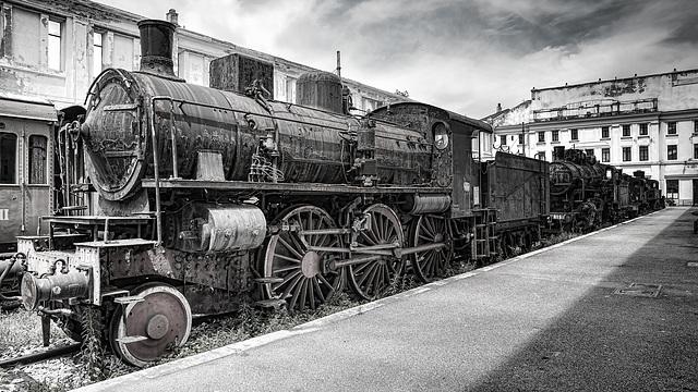Abandoned Trieste - FS 640.064