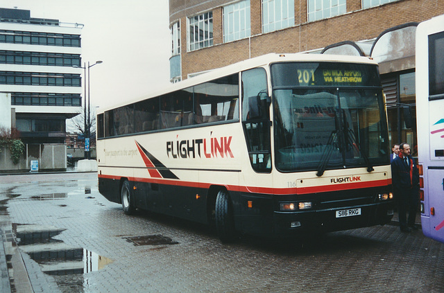 First Cymru S116 RKG at Cardiff - 26 Feb 2001