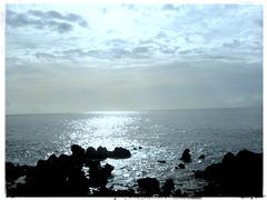 ein Blick aufs Meer