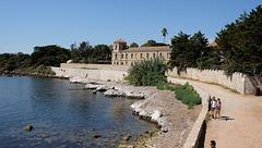 CANNES: Visite de l'ile Saint Honorat 83