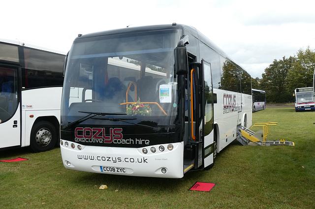 Cozy Travel CO08 ZYC (PN08 CMY) at Showbus - 29 Sep 2019 (P1040591)