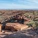 The view from Wupatki Pueblo