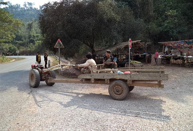 Tracteur et bananes / Tractor and bananas