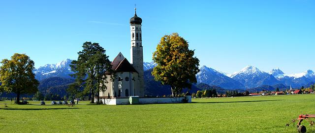 St. Coloman im Herbst. ©UdoSm