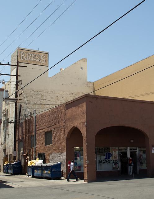 Calexico CA border downtown (# 0584)