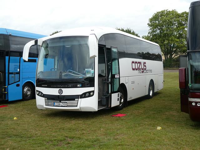 Cozy Travel CO16 ZYO at Showbus - 29 Sep 2019 (P1040593)