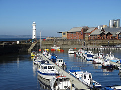 Newhaven Harbour.