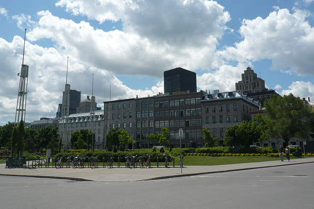 Montreal From The Old Port